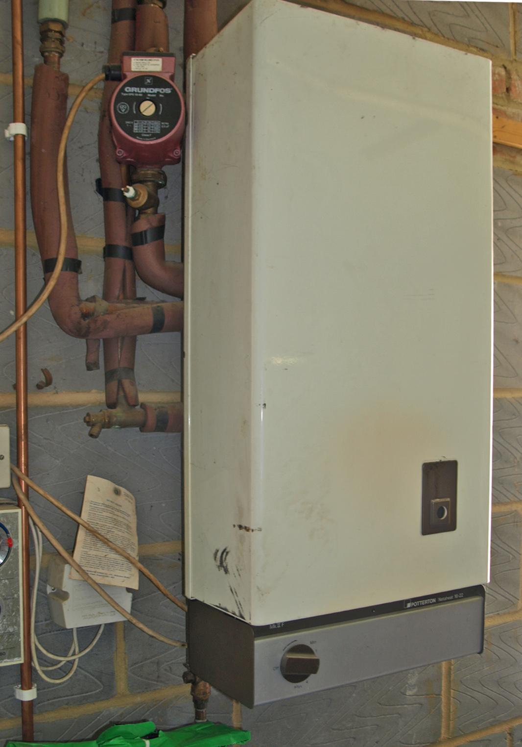 boiler issues